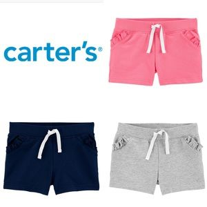 Set of 3 Carter's Pull On Jersey Shorts